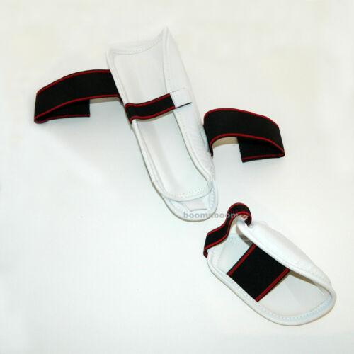 New Taekwondo Shin Instep Protector Karate MMA Leg Foot Guard MMA Sparring Gear
