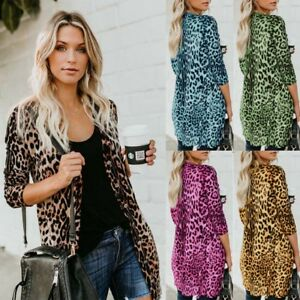 Women-Sexy-Autumn-Leopard-Print-Cardigan-Coat-Tops-Ladies-Knitted-Sweater-Jumper