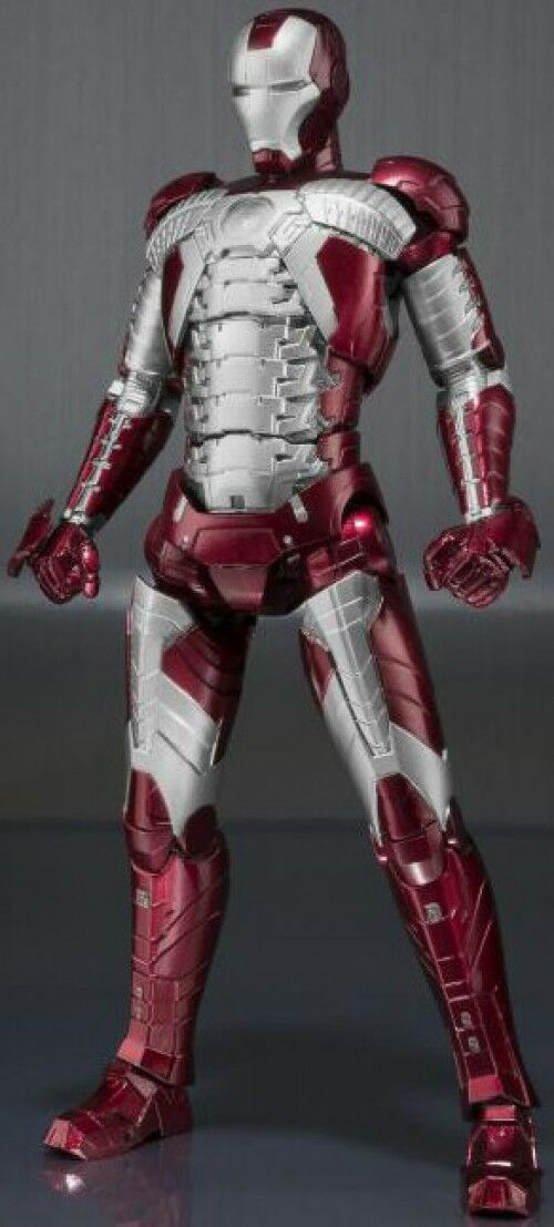 Iron Man 2 S.H. Figuarts Iron Man Mark V & Hall de armadura conjunto Figura De Acción