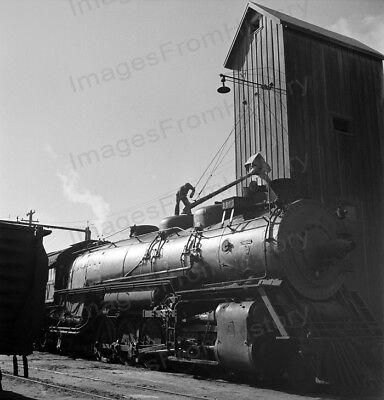 148-x 1943 ATCHISON TOPEKA /& SANTA FE Rear Brakeman RAILROAD PHOTO