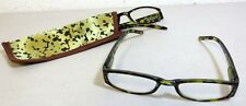 Green Looks TORTOISE SHELL Reading Glasses by Project Eyewear 1.50 strength NEW