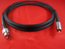5 ft. Belden 1694A  75 Ohm Cable w/ Canare  RCAP-C53 Gold RCA to BNC.