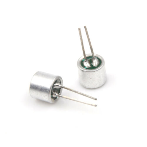 20Pcs Electret Microphone Inserts 6050 with PCB Pins CondenserCN B/_si
