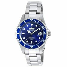 Invicta 9204OB Gent's Pro Diver Steel Bracelet Blue Dial Watch
