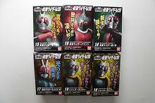 Kamen Rider VS SHODO 4 series Figure 6 Kinds (1+2+Black RX+Amzon+Shocker 2 ver)