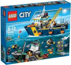 LEGO City Deep Sea Exploration Vessel (60095) Building Kit Retired Playset