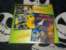 Atomic Submarine +First Man Into Space Laserdisc LD Free Ship $30 Orders
