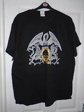 QUEEN ADAM LAMBERT UK + EUROPEAN TOUR T-SHIRT 2015 XL OFFICIAL (Freddie Mercury)