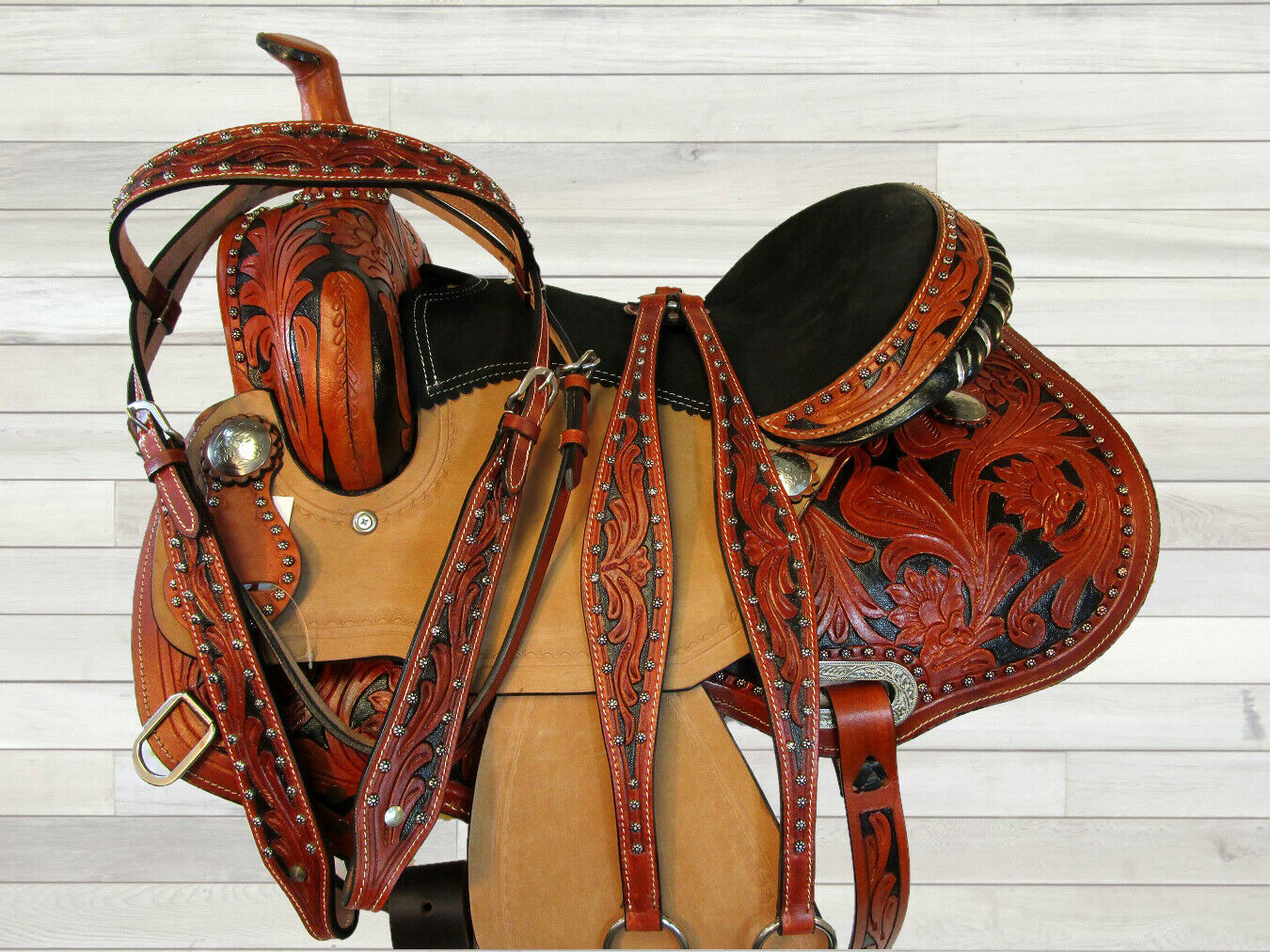 15 16 EQUINE HORSE SHOW WESTERNSÄTTEL  FUR PFERDE BARREL WESTERN TRAIL SADDLE  to provide you with a pleasant online shopping