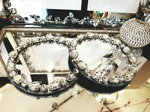 Glass-And-Crystals-Candle-Display-Plates-Wedding-Christmas-Mrs-Hinch-Sparkle