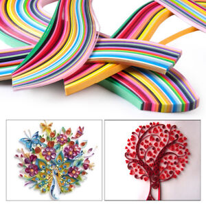 Paper Quilling 120 Stripes DIY Craft Decoration 3mm X 390mm 15