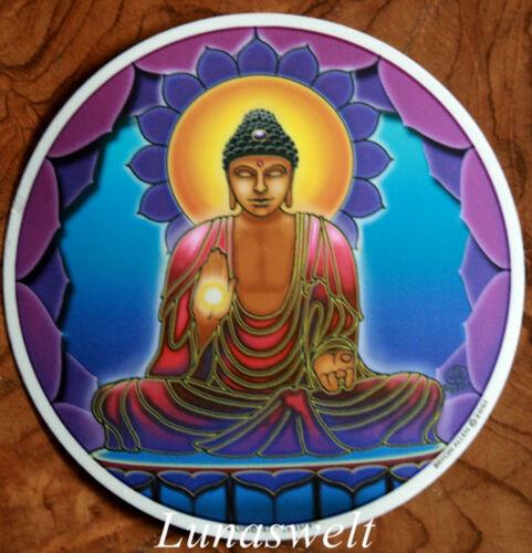 FENG SHUI Fensterbild Buddha Light