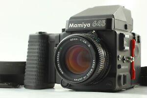 Nuovo-di-zecca-Mamiya-M645-SUPER-AE-Finder-a-prisma-SEKOR-C-80mm-f-2-8-N-DAL-GIAPPONE-1015