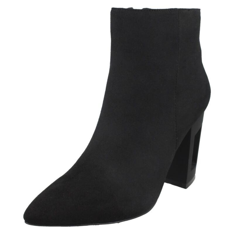 Donna F5r0887 Microfibra Stivali Caviglia Da Spot On Prezzo Vendita Al Dettaglio