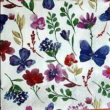 4 x Single Table Paper Napkins,Decoupage//Dining//Craft//Vintage//
