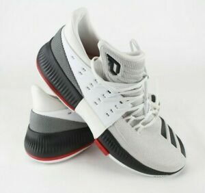 new style 605e3 85453 Image is loading Adidas-D-Lillard-3-Dame-3-USA-White-