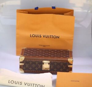06856d471c57 Image is loading Authentic-Louis-Vuitton-Coffret-8-Montres-Watch-Case-