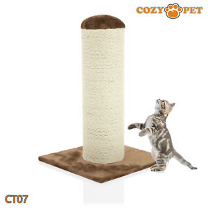 Cozy Pet Deluxe Cat Tree Sisal Scratching Post Quality Cat Trees - CT07-Choc