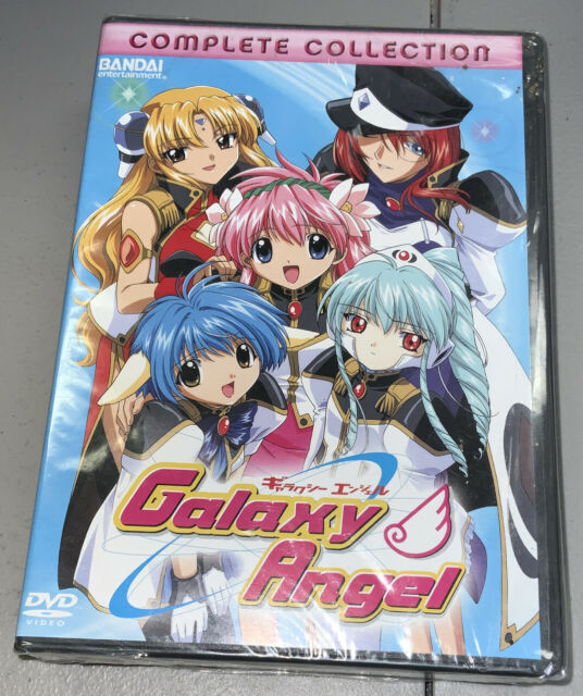 Galaxy Angel - The Complete Collection (DVD, 2006, 4-Disc Set) New Sealed