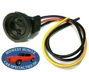 transmission neutral safety switch socket wiring harness 70-92 chrysler d48  | ebay  ebay