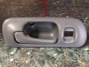 Details about OEM 96-00 Honda Civic EK sedan front driver interior door  lock handle FL gray
