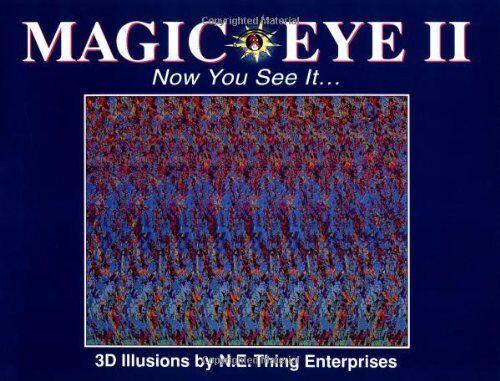1 of 1 - Magic Eye: Vol 2 (N E Thing Enterprises) by Smith, Cheri 0836270096 The Cheap
