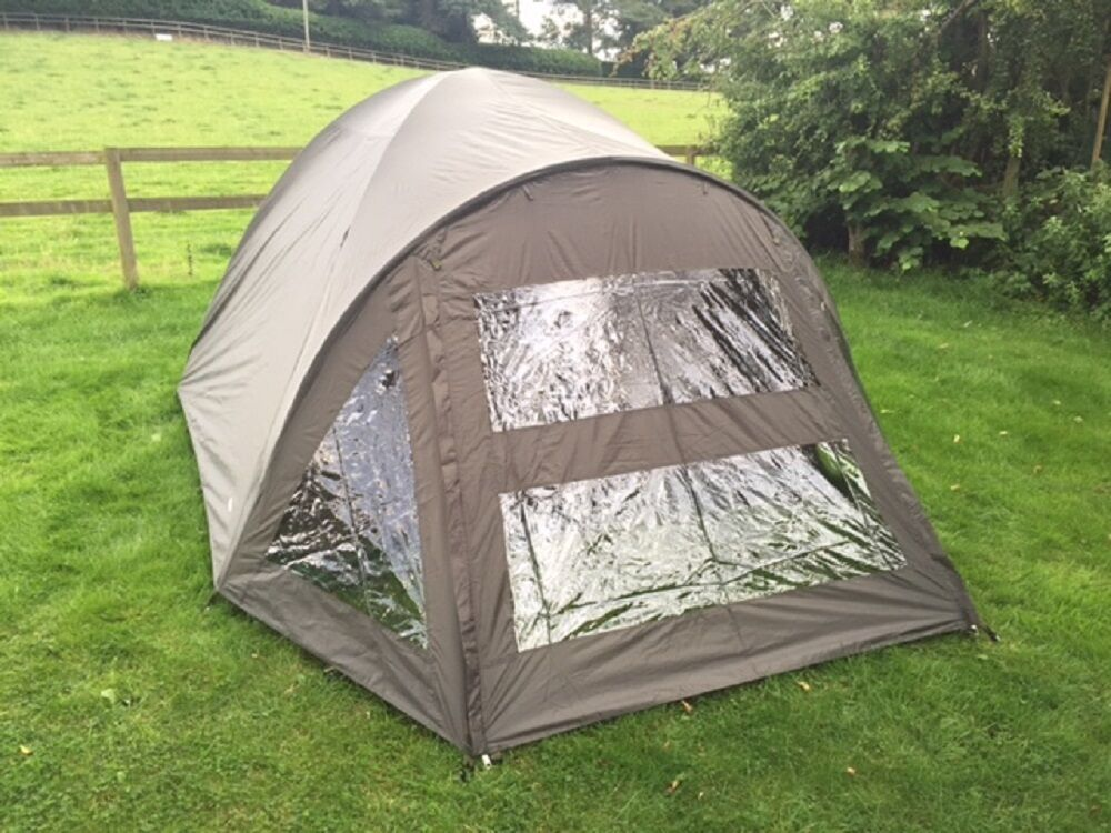 Large  2 Man Carp Fishing Bivvy Shelter With Groundsheet Waterproof