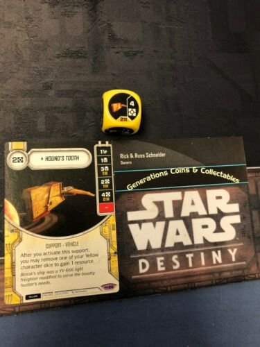 Star Wars Destiny Hounds tooth #20  Legendary  Empire at War
