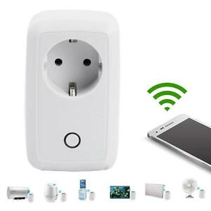 Smart WiFi Remote Control Timer Switch Power Socket EU Plug For Cellphone NEW #W