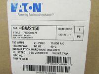 Eaton Cutler Hammer Bw2150 Main Circuit Breaker 2 Pole 150 Amps Type Bw