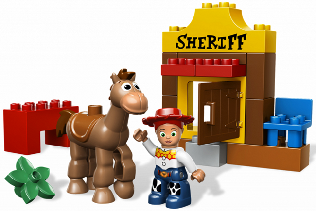 LEGO Duplo 5657 - Duplo - giocattolo storia  Jessie's  Roundup - NO scatola  negozio online