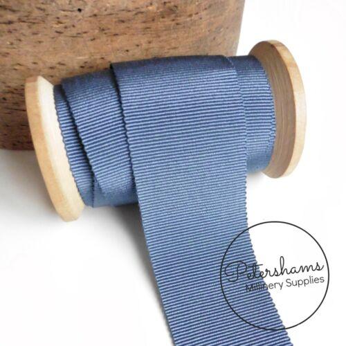 40mm No.10 cinta de sombrero francés Sombrerería pertersham para Sombrerería 1m//Rollo Completo