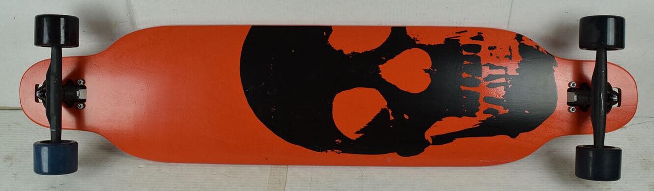 BLEM MOOSE Longboard Downhill Drop Through Skull Symmetrical 9.5  x 42.5