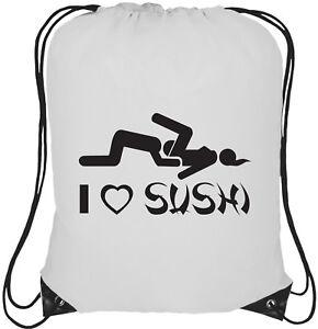 I-Love-Sushi-Logo-13L-Cordon-Sac-Sac-a-Dos-Sac-a-Dos