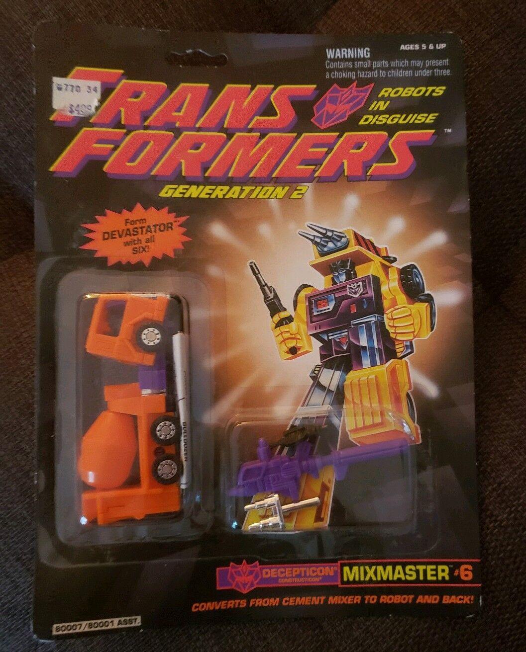 Transformers Transformers Transformers g2 orange mixmaster