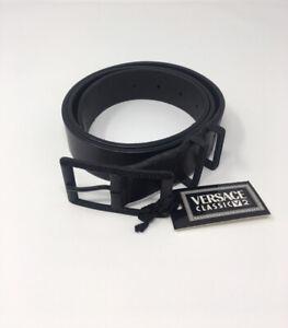 Versace-classic-authentic-men-s-youth-black-leather-belt-VERA-PELLE