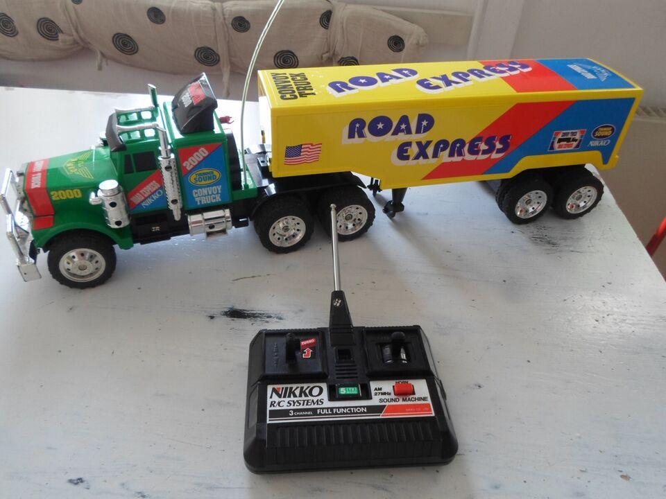 Fjernstyret lastbil, Nikko Road Express, skala 1/24
