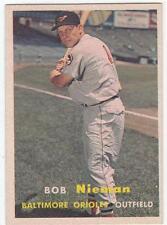1957 Topps Bob Nieman #14 Baseball Card
