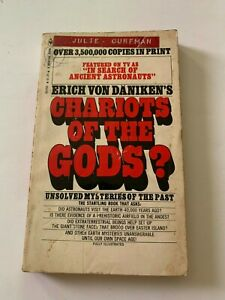 1973-Chariots-Of-The-Gods-by-Erich-Von-Daniken-Bantam-Paperback