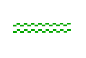 2 x POLICE DECAL GREEN /& white BATTENBERG STRIPES FOR CODE 3 POLICE