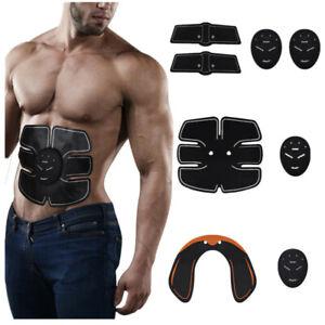 Estimulador abdominal ABS Estimulador muscular Unisexo Abdomen Brazo Cintura 6MD