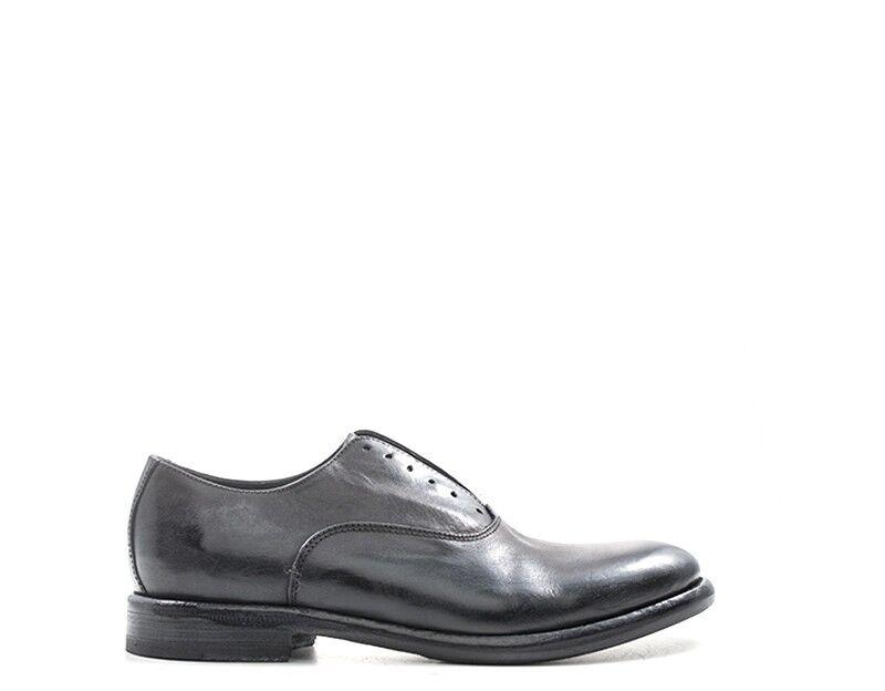 Schuhe MEZZETINTE Mann schwarz Naturleder 5526VAC-NE