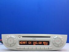 FIAT 500 CD MP3 RADIO PLAYER CAR STEREO CODE CANCHECK DISABLED WARRANTY IVORY