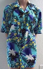 Trading MAUI Company Mens Hawaiian Colorful Short Sleeve Shirt W/Pocket Size M