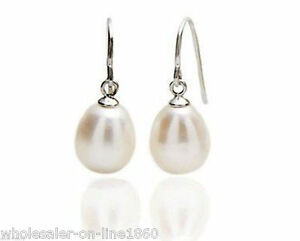 NATURAL-WHITE-REAL-PEARL-100-SOLID-925-SILVER-HOOKS-EARRINGS-1-034