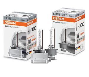OSRAM XENARC Classic D1S D2S D3S D4S Xenon Brenner Scheinwerfer Lampe Set BOX