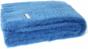 Masterweave Windermere Mohair Knee Wrap Throw Blanket in Lake