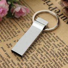 32GB Mini Metal Key Chains Design USB 2.0 Flash Stick Memory Pen Drive Storage