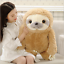 Giant Sloth Stuffed Plush Animal Doll Soft Toys Cushion Pillow Birthday GiftsUK
