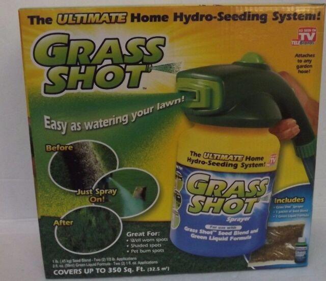 Grass Shot Ultimate Home Hydro Seeding System Liquid Spray Seed